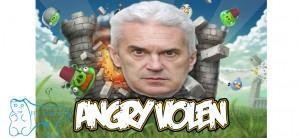 """Няма по-арогантен, истеричен и злобен човек от Волен Сидеров в момента, в което и да е публично пространство в България! Да, така го виждаме повечето българи в """"лошата"""" чужбина, където подобно нещо не може да се случи!"""